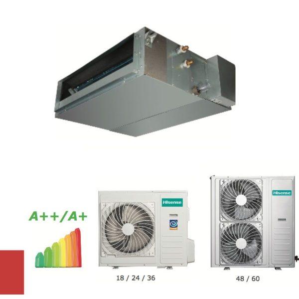 Conductos Hisense AUD-24UX4SALH1