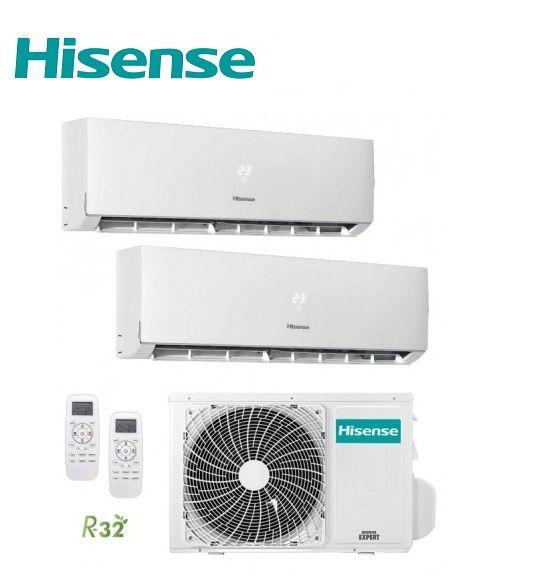 Multi Split 2X1 Hisense 3AMW62U4RFA + 2 UNIDADES DJ35VE0BG A++