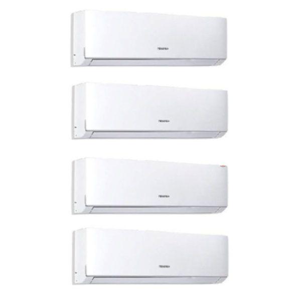 Multi Split 4X1 Hisense AST09UW4SVEDJ10 (X3) +AST12UW4SVEDJ10 + AMW4-28U4S-AD1