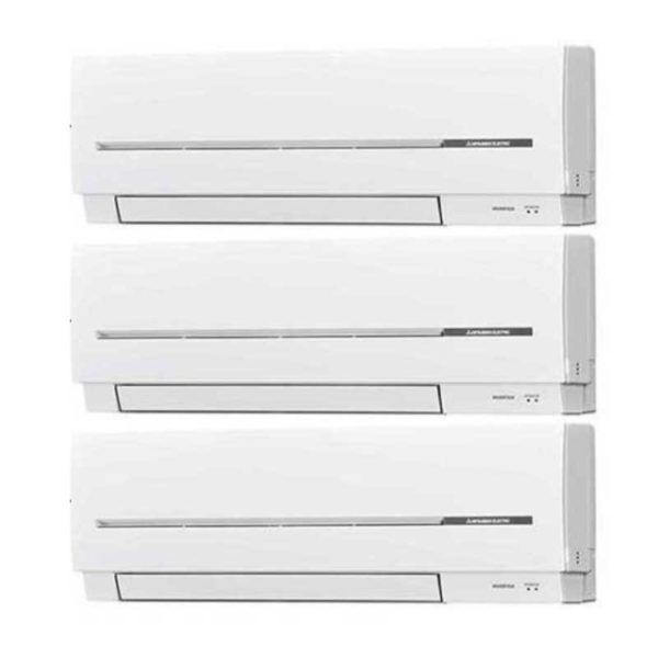 Multi Split 3X1 Mitsubishi MSZ-SF25VE (X2)+MSZ-SF35VE + MXZ-3E54VA