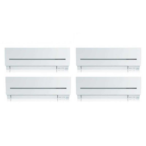 Multi Split 4X1 Mitsubishi MSZ-SF25VE (X3)+MSZ-SF35VE + MXZ-4E72VA