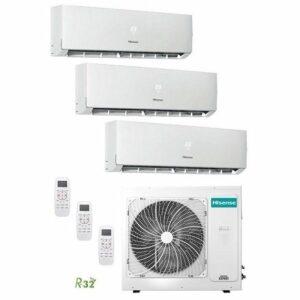 Multi Split 3X1 Hisense 3AMW62U4RFA + 2 UNIDADES DJ25VE0BG + DJ35VE0BG